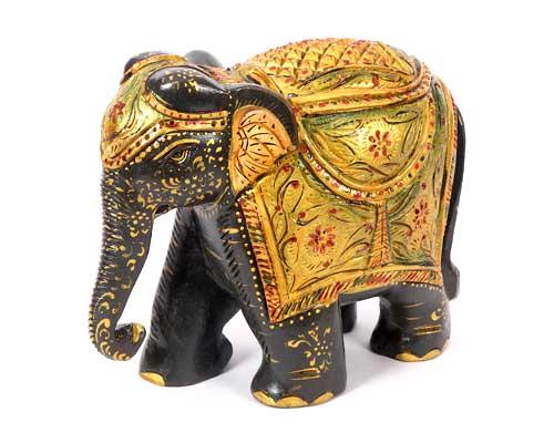 Wooden Elephants Decorative Woodcrafts Hand Carved Wooden Elephants Wood Carving Crafts