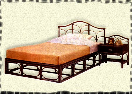 cane beds by indian furniture handicrafts crafts bamboo beds