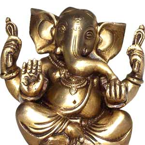 Seated Ganesh ( 5 Inches )