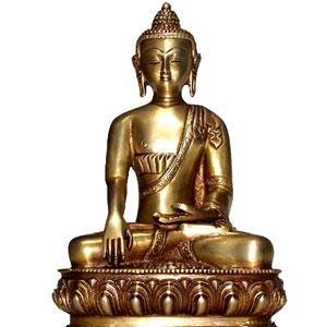 Buddha Bhumisparsha (9 inches)