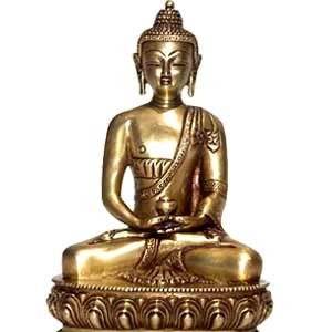 Meditating Buddha (9 inches)