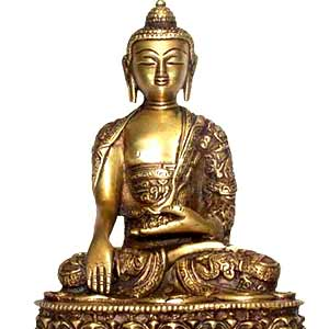 Buddha Bhumisparsha Life Story (9 inches)