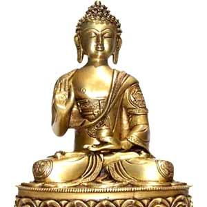 Blessing Buddha Ashthamangal (14 inches)