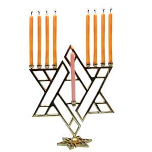 Decorative Nine Candle Stand