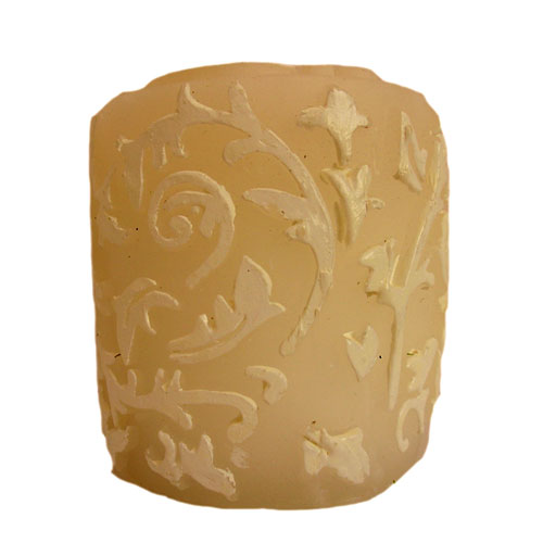 Floral Wax Candles Decorative Scented Candles