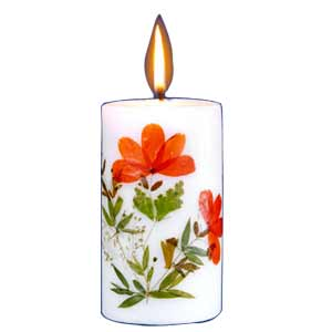Aromatic Orange candle