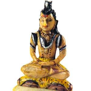 Soap Stone Shiva (big)