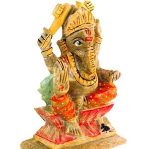 Soap Stone Ganesh (big)