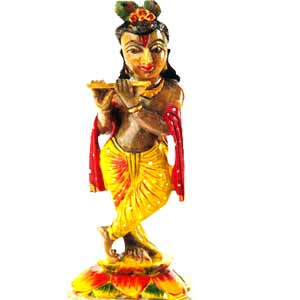Soap Stone Krishna