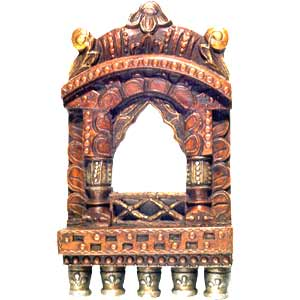 Wooden Small Jharokha