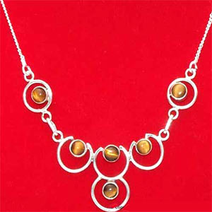 Tiger Eye Necklace:The Princess Collection
