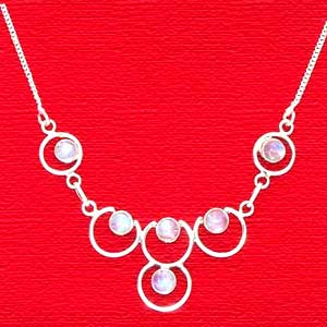 Moon Stone Necklace:Maidens Collection