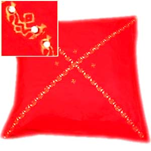Resplendent Red Cushion Cover Set of 5