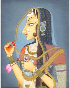 Bani Thani Miniature Painting