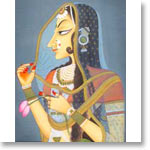 Bani Thani Miniature Painting