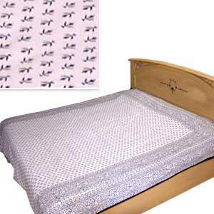 Blue Symphony Bedspread