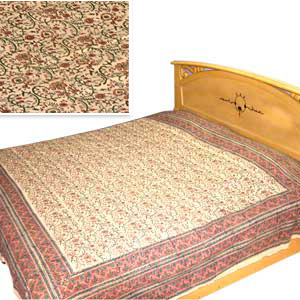 Violet Symphony Bedspread