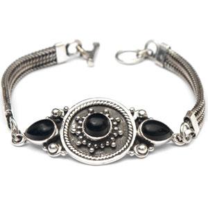 Black Onyx Man Bracelet