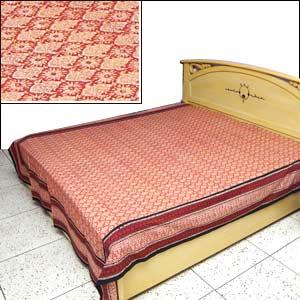 Block Print Indian Bed Spread