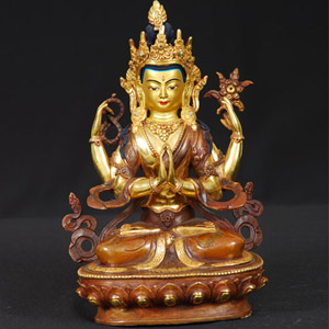 Bodhisattva Chenrezi Statue