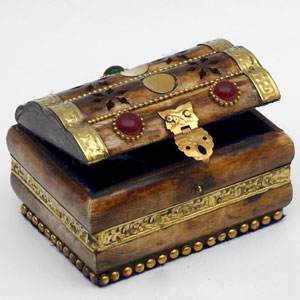 Craft Ideas Jewellery on Bone Brass Jewelry Box