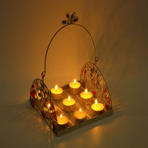 Candle Lights Tray