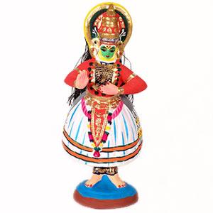 Kathakalli Dancer