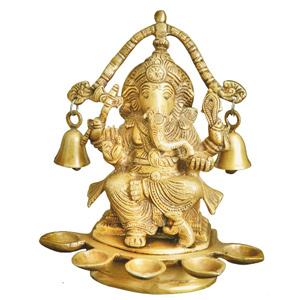Deepak Bells Ganesha
