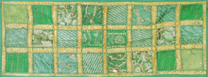 Fabric Art Wall Hanging