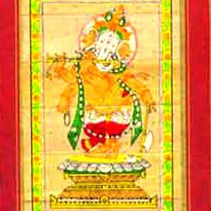 Flute Playing Ganesha