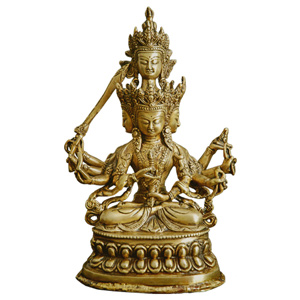 Four Headed Manjushri