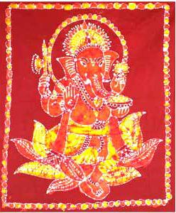 Ganesha Batik Painting