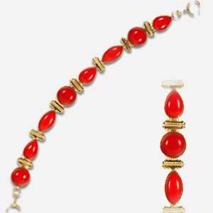 Handmade Gem Stone Bracelet
