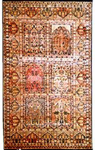 Cream Hue: Handmade Carpet