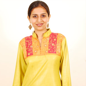 High Neck Kurti