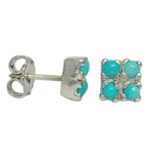 silver-earring-turquoise