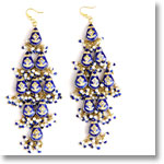 Blue_Sparkle_Lacquer_Earrings