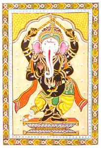 Joyous Ganesha