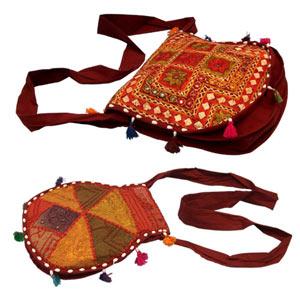 Embroidered Bag-Abha & Mahika