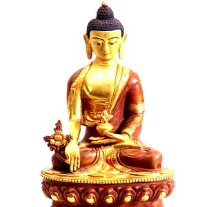 medicine-buddha-statue-gold-plated