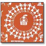 Merry making villagers-Warli Painting