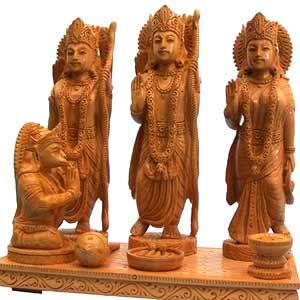 Wooden Ram Durbar