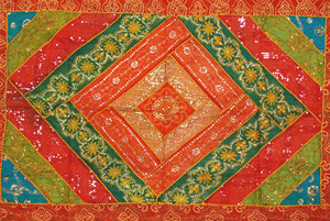 Red Green Wall Hanging