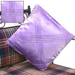 Satin Mauve Cushion Cover