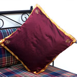Silk Maroon Cushion Cover