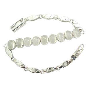 Silver Bracelet Moonstone
