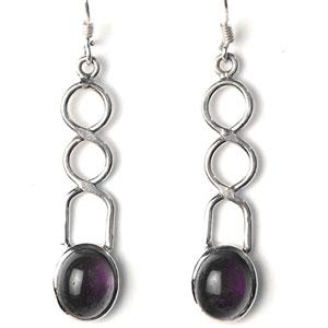 Silver Brawl Earrings