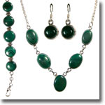 Malachite Vintage Set