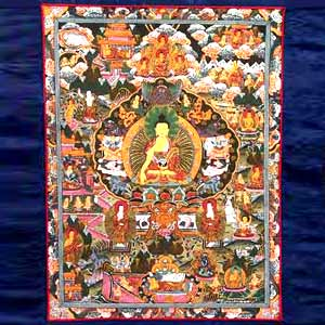 Thangka Of Buddha