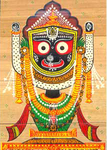 Jagannath Dev – Patachitra